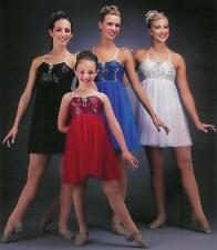New REFLECTIONS Lyrical Dance Costume Color/Sz CHOICE