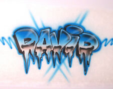 Airbrushing on Your  Tshirt - Personalized w/ANY Name
