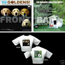 The Beatles Dog Themed T Shirt Gifts Golden Retrievers