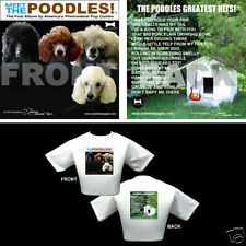 The Beatles Dog Themed T Shirt - Gifts - Poodles