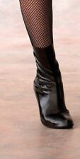 Black ANKLE SPATS Jazz SHOE COVERS Dance Theater Costume Child Small