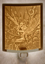 Delamare: Fairy Mother & Child Lithophane Night Light