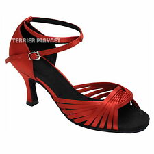 TPS Latin Ballroom Salsa Custom-made Dance Shoes D237