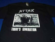 ATTAK shirt TODAYS GENERATION UK 82 POGO PUNK NO FUTURE