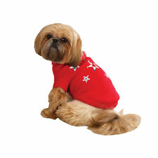 Zack & Zoey Twinkling Star Dog Sweater, Holiday Sweater