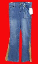 NWT Vanilla Star Girls Jeans Denim Size 12 10 Blue ARGO NEW