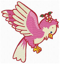 Cute Colorful Birds Machine Embroidery Designs CD Set