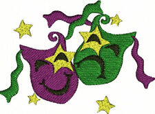 Mardi Gras Party Festival Machine Embroidery Designs CD