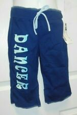 NWT CROP PANTS DANCER COTTON LYCRA CHILD/ Ladies