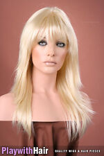 SUPER! Feathered Razored Tips Wig - COLOUR CHOICES!