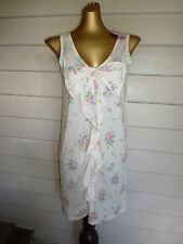 Peter Alexander Womens Faded Floral Bow Nightie- BNWT- Choose Size