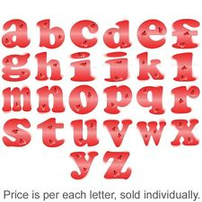 Name Wall Letters Alphabet Stickers Initial Decals Girls Decor Art Red Ladybug