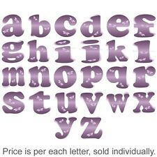 Name Wall Letters Alphabet Stickers Initial Decals Girls Decor Purple Dragonfly