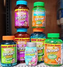 Flintstones Gummies Children's Supplements Multivitamins Gummy Chewy ~ Pick One