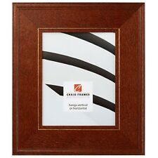 """Picture Frame Country Honey Brown 3"""" Wide Complete New Wood Frame (80781821)"""