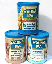 Individual Single Cans Of Macadamia Nuts - Available in Assorted Flavors