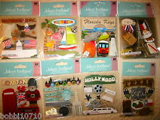 JOLEE'S TRAVEL DESTINATION STATE CITY THEMED STICKERS 21 STYLES YOU CHOOSE 1