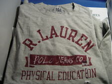 NWT RALPH LAUREN POLO JEANS CO. LONG SLEEVE ATHLETIC T-SHIRT MULTI COLORS/SIZES