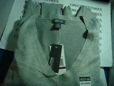 NWT KENNETH COLE REACTION  DESIGNER V-NECK SWEATER LONG SLEEVE