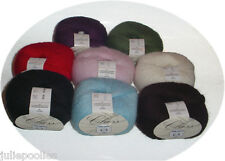 REDUCED  Lana Gatto Class Buttery Soft Angora Merino Yarn - 8 colors