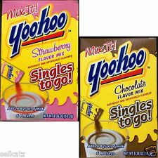 YOO-HOO SINGLES TO GO DRINK MIX IT YOOHOO YOO HOO ON THE GO ~ PICK ONE