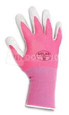1 Pair Pink Atlas Showa 370 Nitrile Glove Garden Work Paint Landscaping Shipping