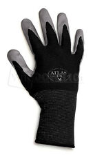 3 Pairs Black Atlas Showa 370 Nitrile Gloves SMALL Garden Work Paint Landscaping