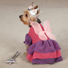 Zack & Zoey FAIRY PRINCESS Pet Dog Halloween Costume XS S M L