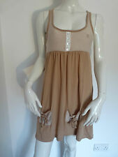 BLEND SHE STRIPEY TOFFEE SUMMER SHORT DRESS    £21.99   BNWT   VARIOUS SIZES