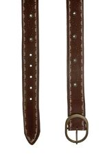PEPE JEANS COVENT LEATHER BELT TAN AW12 VAR-SIZES RRP £45.00