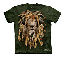 DJ JAHMAN Youth T-SHIRT #153175 sizes L-XL COOL, Reggae Lion DJ