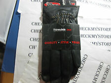 NWT NEW ABG  THINSULATE 3M  LEATHER GLOVES  L