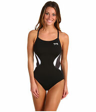 NWT TYR TYR Triathlon Competitor Thin Strap Reversible 1 Piece PERFORMANCE SWIM