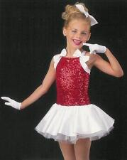 BE MINE Shirley Temple Christmas Dance Dress Ballet Tutu Costume CXS,CS,AL