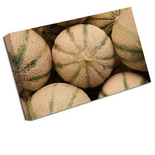 Kitchen Canvas Picture Melons Fruit Art Print