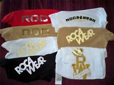Womens Roca Wear Tops  T-Shirts (Colors Red, Black, White, Tan) Size S, M, L NWT