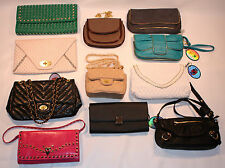 Urban Expressions Clutch Handbag Purse Wholesale - Pink Brown Green Turquoise