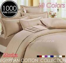 1000TC EGYPTIAN COTTON Quilt/Doona/Duvet Cover Set King/Queen/Double/Single Bed