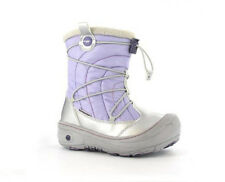 New Girls Hi-tec Equinox Silver Winter Thermal Waterproof Snow Boots Size 10-5