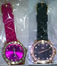 CURATIONS WITH STEFANI GREENFIELD BEAUTIFUL BLING CRYSTAL ACCENT WATCH ~PICK ONE