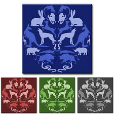 PREMIUM FRAMED CANVAS Animal Pattern MANY SIZES/COLOURS