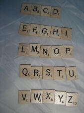 SCRABBLE TILE LETTERS for Crafts,Scrapbooking,Replacement&Blanks FreeShip2/more