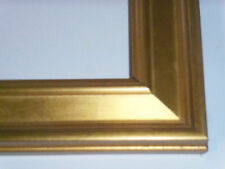 1 1/4 Small Gold Leaf Plein Air Picture Frame-Custom Panoramic Size