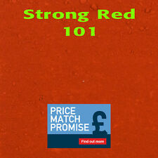 Strong Red Y101 Dye/Pigment for Concrete, Render, Mortar & Cement