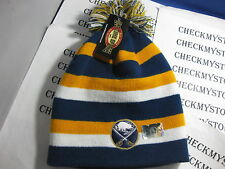 NWT BUFFALO SABRES NHL KNITWEAR Hat   ONESIZEFITSMOST AUTHENTIC OLDTIMESPORTS