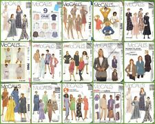 OOP McCalls Sewing Pattern Misses Plus Size Full Figure Dressmaking Pattern