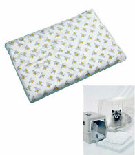 Hard & soft sided Dog Kennel bed w/ Extra-absorbent pads reusable 300+ washings