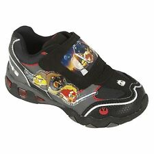 ANGRY BIRDS STAR WARS Light-Up Athletic Shoes Sneakers NWT NIB Boys Size 2  $40
