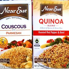 NEAR EAST 100% NATURAL COUSCOUS QUINOA RICE PILAF MIX (3 PACK) KOSHER ~ PICK ONE