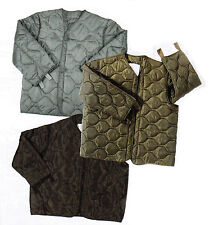 M-65 Foliage Green Black Olive Drab Military Field Jacket Quilted Coat Liner NEW